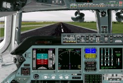 Flightsim FS2004/FS98 Panel - New An-124 / image 2
