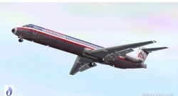FS2002/FS2002 American Airlines Boeing MD-82 image 1