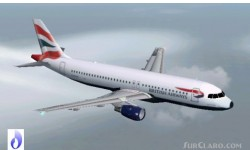FS2002 Aircraft British Airways Airbus A320-111 image 1