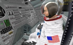 Saturn V Apollo 11 launch simulation video part image 2