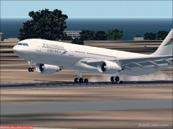 Fs2002 Airbus A330-300 Arabian Airlines image 1