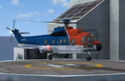 Nemeth Design AS322L2 Super Puma Repaint image 1