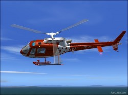 FS2004/fs9 EUROCOPTER AS350 B2 RP-C2294 ABS-CBN image 1