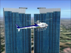 FS2004/fs9 EUROCOPTER AS350 B2 RP-C2294 ABS-CBN image 2