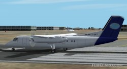 FS2002 Dash 8 300 Qantas Link And National Jet image 1