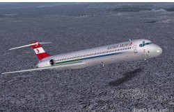 FS2004 austrian airlines md-82 image 1