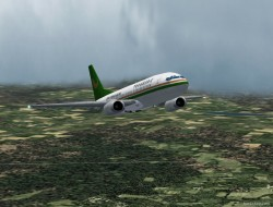 FS2002 Boeing 737-300 China Yunnan Airlines image 1
