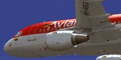 Project Airbus Avianca A319-112 HK-4553-X image 1