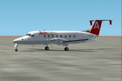 FS2002 Beechcraft 1900 with D Panel image 1