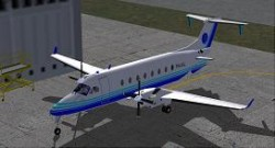 AIS Flight Academy And AIS Airlines FS2004 B1900 image 1