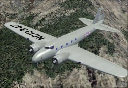 FSX and FS2004 Boeing 247 image 1