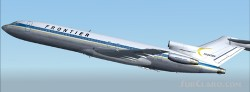 Frontier Boeing 727-200 repainted image 1