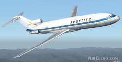 Frontier Boeing 727-200 repainted image 2