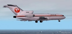 Fs2002 Aircraft B727-44 Japan Air Lines Late image 1