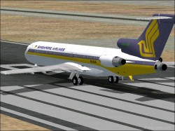 FS2004 BOEING 727-212 SINGAPORE AIRLINES image 1
