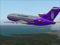 FS2004 Boeing 727-200 fsOC / Singapore Airlines image 1