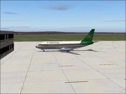 FS2004 Textures repaint Boeing 737-200 Zambia image 1