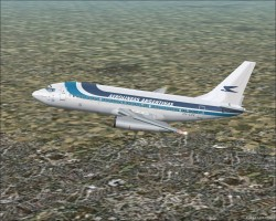 FS2002 YeoDesigns Boeing 737-200 with image 1