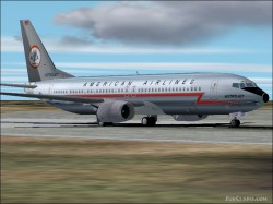 Fs2002 Boeing 737-800 American Airlines Astrojet image 1