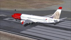 Norwegian Air Shuttle Boeing 737-8FZ - LN-NOU image 1