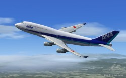 Nippon Airways FSX Boeing 747-400 image 1