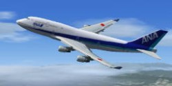 Nippon Airways FSX Boeing 747-400 image 2