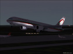 FS2004 Boeing 757-200 Royal Air Maroc Mouline image 1