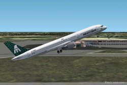 FS2002 Mexicana Airlines Boeing 757-200 Xa-tra image 1