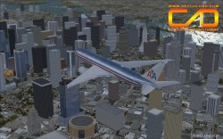 FSX American Airlines B777-200 RR repaint image 2