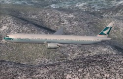cathay Pacific Boeing 777-300 Textures image 1