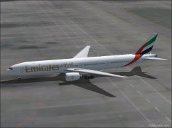 EMIRATES Boeing 777-31H FS2002 and Fs2004 image 1