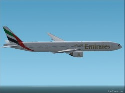 EMIRATES Boeing 777-31H FS2002 and Fs2004 image 2