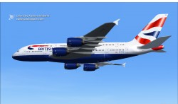 Project Airbus Airbus A380-800 British airways image 2