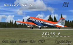 FSX Project Basler BT-67 AWI vers.1.0 with image 1