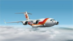 Project Opensky Boeing C-17a Iberia Cargo Livery image 1
