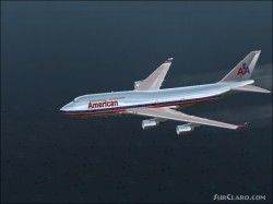 FS2002 American Airlines Boeing 747 Repaint image 1