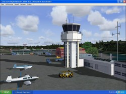 FS2004 Scenery Bantiger Telecomtower: Located image 1