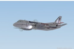 FS2002 Business Express Saab 340a image 1