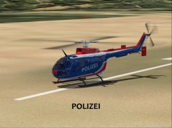 FsX Project BO-105 BO-105 German Coast Guard image 1