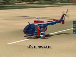 FsX Project BO-105 BO-105 German Coast Guard image 2