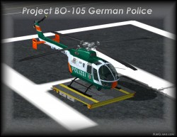 FsX Project BO-105 Polizei vers.1.1 with image 1