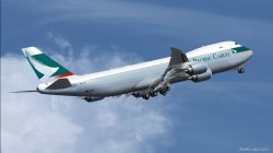 Cathay Pacific BOEING 747-8 Intercontinental image 1