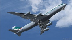 Cathay Pacific BOEING 747-8 Intercontinental image 2