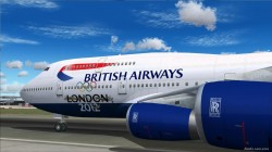 Boeing 747 British Airways Olympic Edition image 1