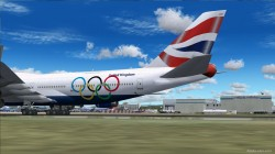 Boeing 747 British Airways Olympic Edition image 2