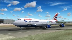 Boeing 747 British Airways Olympic Edition image 3