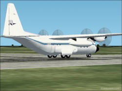 FS2004 Tepper Aviation L-100-30 Hercules image 2