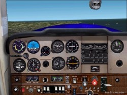 Cessna 152 Fs2002 Panel And Aircraft image 1