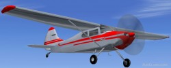FS2004 1948 Cessna 170A 170 series image 1