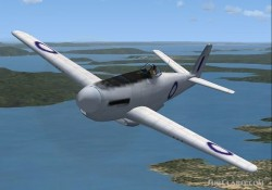 FS2004/FSX CA-19 Experimental fighter image 1